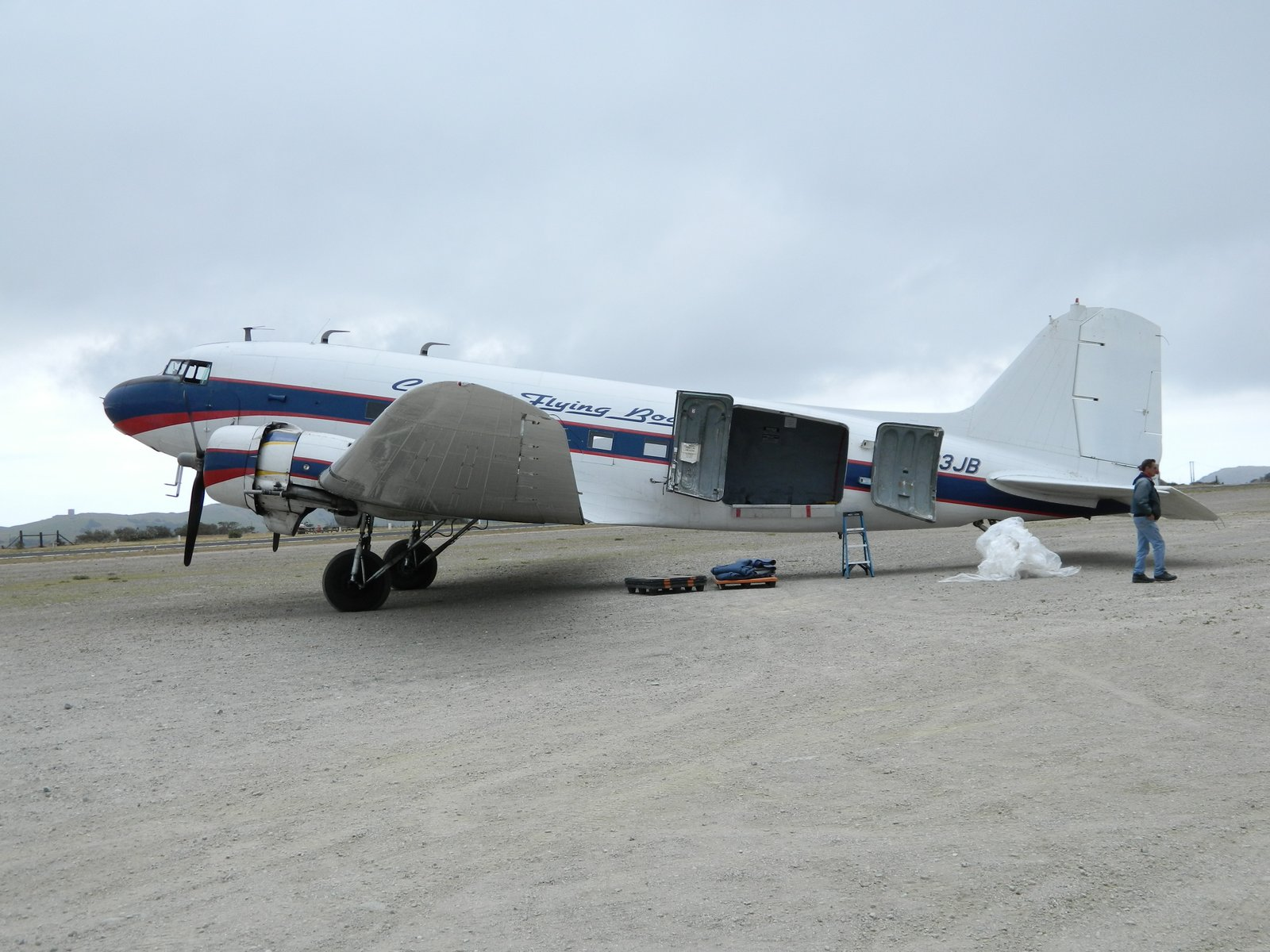 One of history's longest flying airliners, the DC-3 nears 80