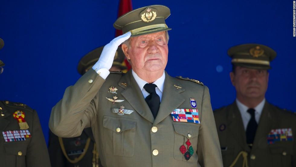 Spain's King Juan Carlos I to abdicate