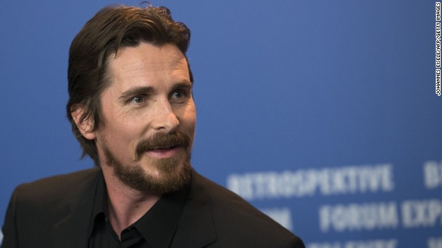 "British actor Christian Bale addresses a press conference for the film ""American Hustle"" in the Berlinale Special category at the 64rd Berlinale Film Festival in Berlin, on February 7, 2014. The 64rd Berlinale, the first major European film festival of the year, starts with 24 international productions screening in the main showcase. AFP PHOTO / JOHANNES EISELE    AFP PHOTO / JOHANNES EISELE        (Photo credit should read JOHANNES EISELE/AFP/Getty Images)"