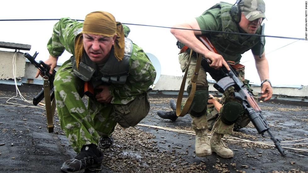 Ukrainian official: Five militants killed in attack on border guard base in Luhansk
