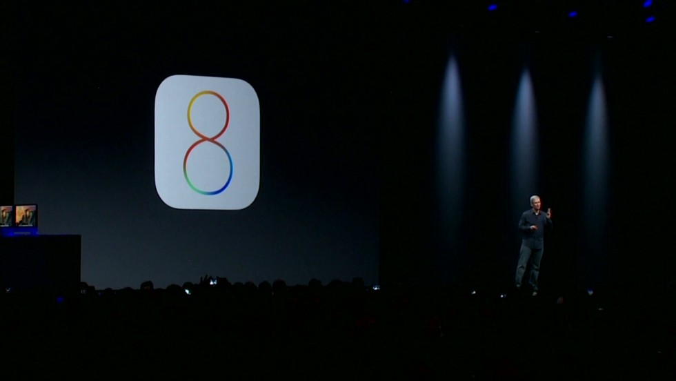 Apple's iOS8 mobile operating system offers lots of new features for iPhone users. An app called Wave, that lets you charge it in a microwave, isn't one of them.