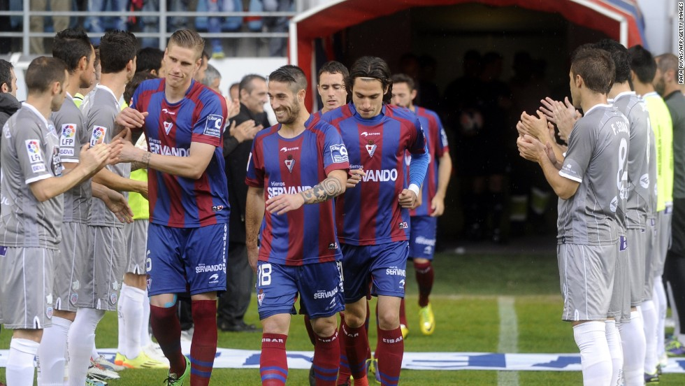 "If Eibar does join the likes of Real Madrid and Barca in La Liga, it will need to invest in new players. But Aranzabal says: ""We won't go crazy wasting a lot of money on getting very expensive players. We want to maintain our team philosophy and do things as we have been doing all these years. We want to stick to our guns and be true to our history."""