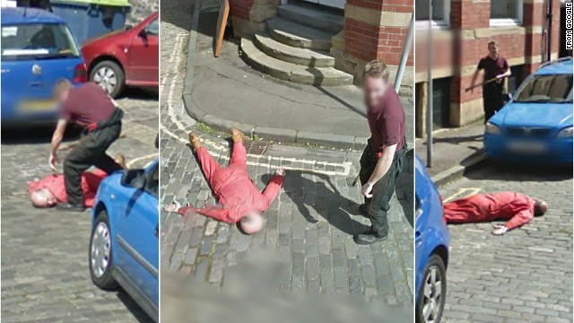 Did a Google camera capture murder?