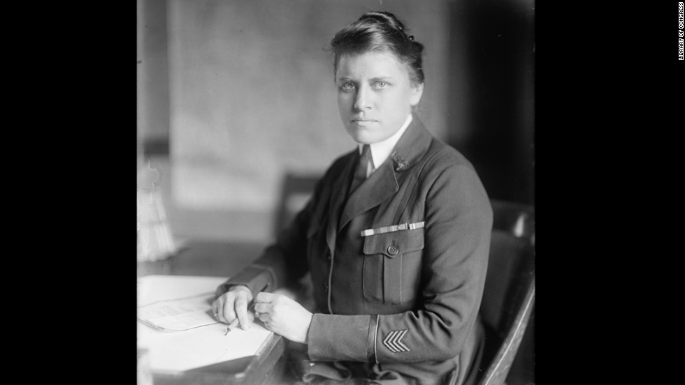 Julia Stimson was superintendent of the U.S. Army Nurse Corps and the first woman to attain the rank of major in the Army. She earned the Distinguished Service Medal for her service in France.