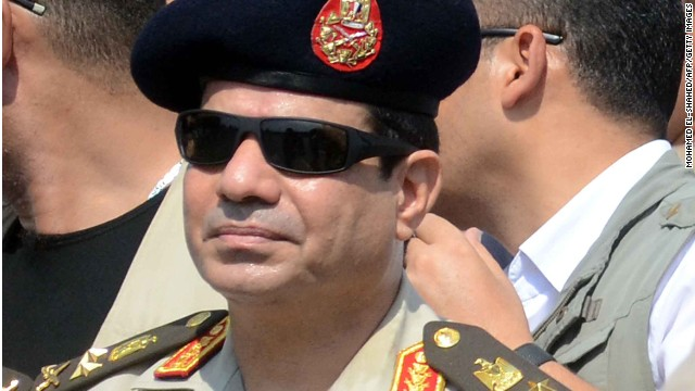 Ex-military chief now Egypt's president