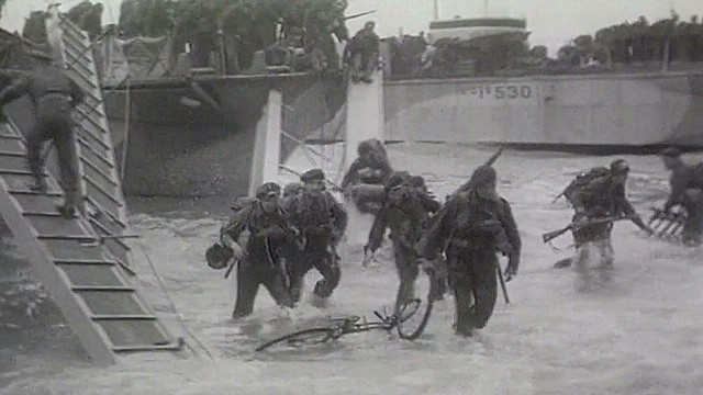 WWII vet remembers Normandy