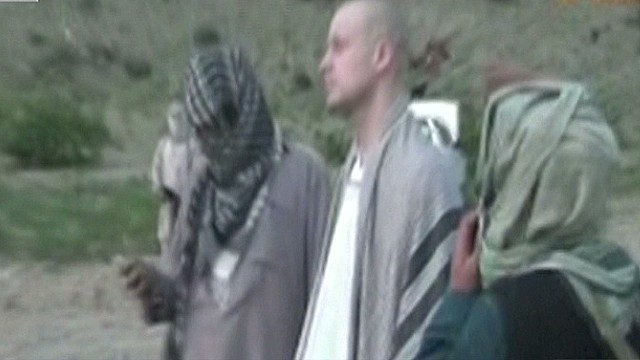 Taliban video shows Bowe Bergdahl's release