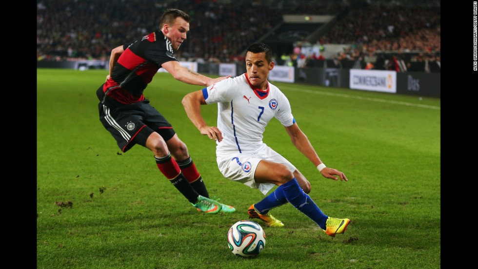 <strong>Alexis Sanchez (Chile):</strong> If La Roja wants to escape from a group boasting both 2010 World Cup finalists, it'll need a strong showing from this 25-year-old forward, seen at right. Sanchez can score, finding the net eight times in 11 caps last year. He also knows how to set up his teammates, as he's racked up 34 assists to complement the 47 goals he's scored in club competition since Barcelona paid generously for his services in 2011.