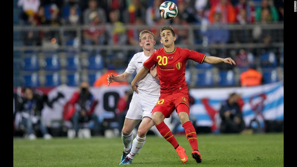 <strong>Adnan Januzaj (Belgium):</strong> The Belgians are young, and none is younger than the Manchester United wunderkind, seen at right. With one cap to his name -- and surrounded by some of soccer's top stars -- the 19-year-old might not see the field much. But consider this: In his first start for Manchester United, at 18, he scored two goals in a come-from-behind win over Sunderland. Legend has it that at age 6, he once scored 17 goals in a youth game. And if he gets playing time, he certainly won't lack confidence.