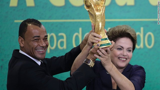 Rousseff defends Brazil World Cup preps