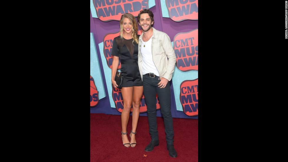 Lauren Rhett and Thomas Rhett