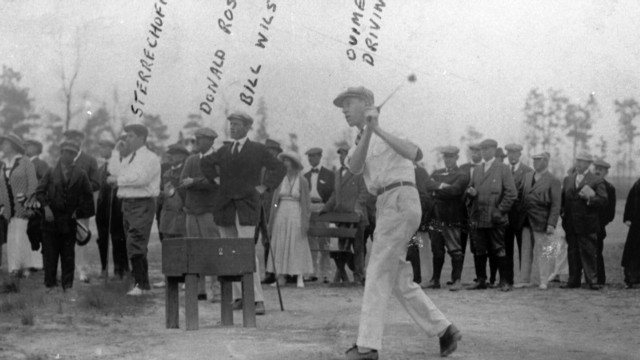 A history of golf at Pinehurst
