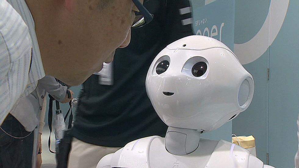 Meet Pepper, the emotional robot