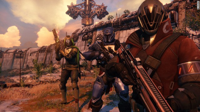 """Destiny,"" an upcoming title by ""Halo"" creators Bungie, will be showcased at the Electronic Entertainment Expo in Los Angeles."