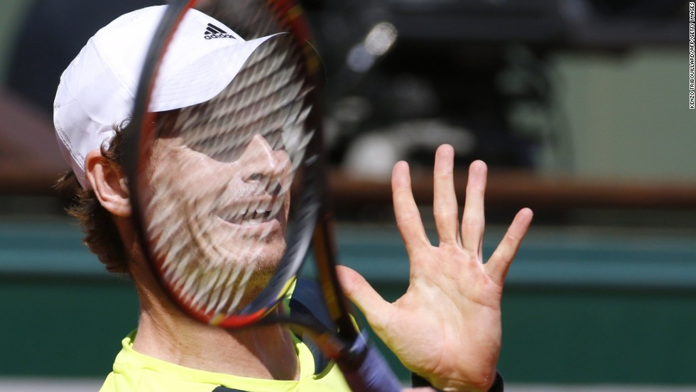 Nadal swept past Andy Murray (pictured) in Friday's second semifinal in straight sets 6-3 6-2 6-1.