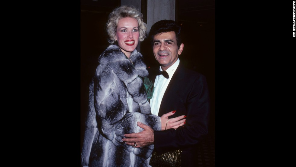 Casey and Jean Kasem attend the 21st Annual International Broadcasting Awards in Century City, California, in 1981.
