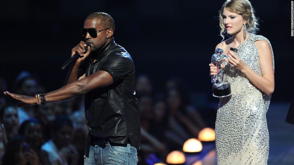 "All the apologies in the world couldn't repair Kanye West's PR damage after he interrupted Taylor Swift's acceptance speech at the 2009 MTV Video Music Awards. Although <a href=""http://www.cnn.com/2009/SHOWBIZ/Music/09/15/kanye.west.apology/index.html?iref=allsearch"" target=""_blank"">he apologized more than once</a> -- <a href=""http://music-mix.ew.com/2010/09/04/kanye-west-apologizes-to-taylor-swift-on-twitter-ive-learned-i-only-want-to-do-good/"" target=""_blank"">via Twitter</a>, by phone and on ""The Tonight Show"" with Jay Leno as host -- public opinion wasn't swayed."