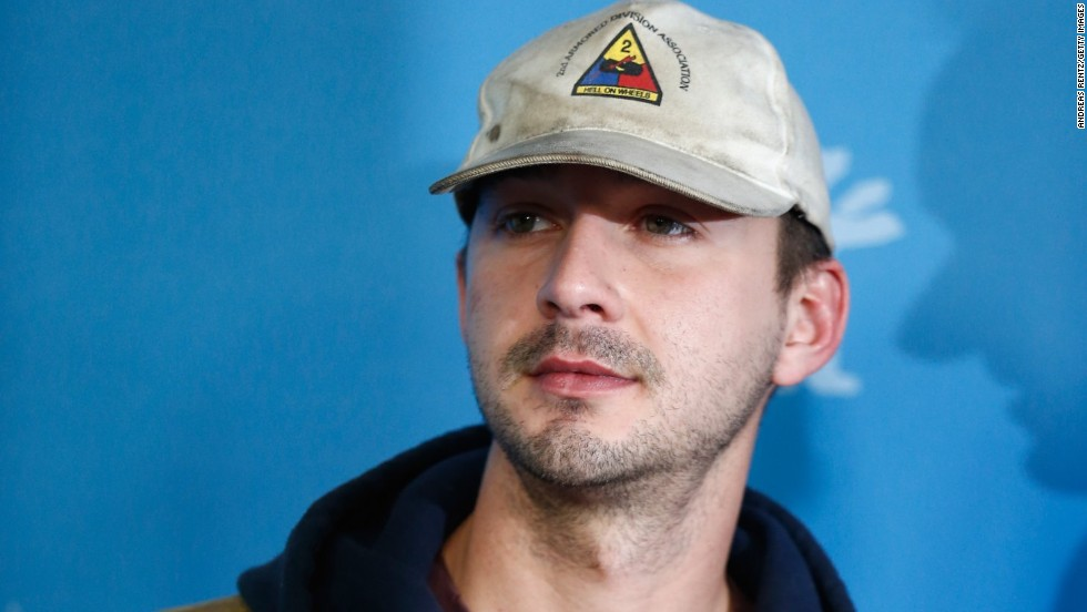 "Shia LaBeouf is such a pro at apologizing that he's started to think outside of the box. After he tweeted that he ""f****d up"" <a href=""http://www.cnn.com/2014/01/02/showbiz/shia-labeouf-plagiarism-apology/"" target=""_blank"">when he copied another artist's work without credit</a> in December, he then drove the point home by<a href=""http://www.cnn.com/2014/02/10/showbiz/celebrity-news-gossip/shia-labeouf-berlin/index.html"" target=""_blank""> plagiarizing other famous apologies</a>, skywriting his regret <a href=""http://www.cnn.com/2014/02/12/showbiz/celebrity-news-gossip/shia-labeouf-la-crying/"" target=""_blank"">and then establishing a performance art piece called #IAmSorry.</a>"
