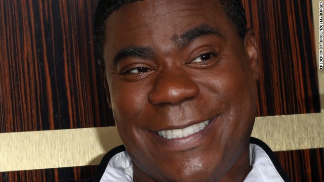 Actor Tracy Morgan