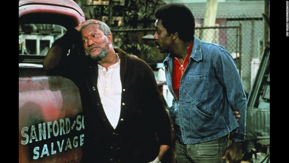"<strong>""Sanford and Son"":</strong> The 1970s NBC sitcom followed the generational gap of salvage dealer Fred Sanford (played by Redd Foxx) and his son Lamont (Demond Wilson) after Sanford's wife, Elizabeth, passed away. In moments of frustration with his son as a dropout and reluctant business partner, Sanford would feign a heart attack and declare, ""I'm coming to join ya, honey!"""