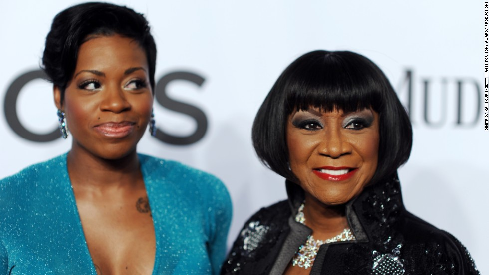 Fantasia Barrino and Patti Labelle