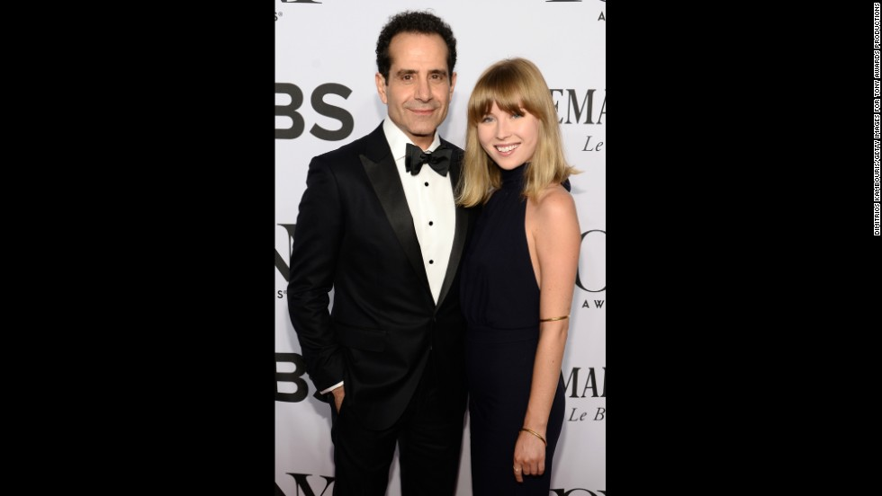Tony Shalhoub and Josie Lynn Adams