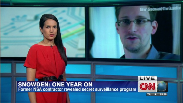 One year of Edward Snowden's revelations
