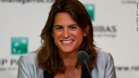 Amelie Mauresmo hired as Andy Murray's new coach