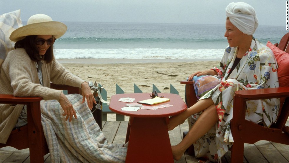 "<strong>""Beaches"" (1988): </strong>This is another tearjerker with roots in a novel. Garry Marshall's ""Beaches"" is <em>the</em> movie to watch when you want a story about an enduring friendship (between Barbara Hershey, right, and Bette Midler) that leaves you sobbing on the couch."