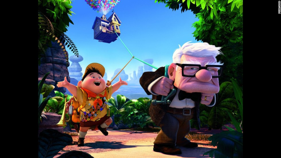 "<strong>""Up"" (2009)</strong>: Disney/Pixar should probably win an award for being able to make so many moviegoers <a href=""http://deadspin.com/5313572/dear-pixar-stop-making-me-cry-like-a-bitch"" target=""_blank"">bawl in their seats within the first 10 minutes</a> of a movie, like they did with the adventurous animated story ""Up."""