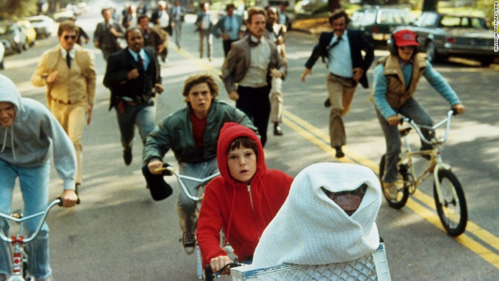 "<strong>""E.T."" (1982)</strong>: Before all these apocalyptic movies about aliens, most of us thought extraterrestrials were exactly like Steven Spielberg's  ""cute and cuddly"" ""E.T."" When it comes to heartbreaking scenes, you can pick your poison with this movie, whether it's E.T. being near death or his finally making it home."