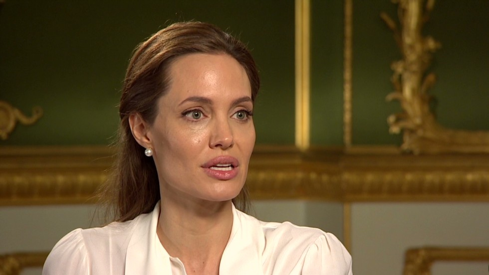 Angelina Jolie: Why I do this - CNN Video