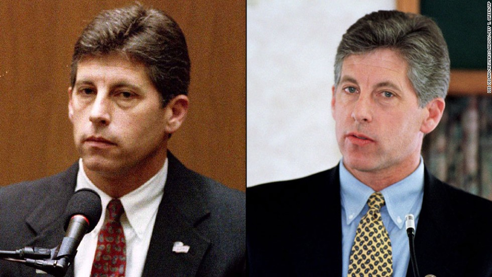 <strong>Mark Fuhrman:</strong> The former Los Angeles Police Department detective gave testimony about finding the infamous bloody glove, but the defense tried to paint Fuhrman as a racist who planted the glove to frame Simpson. He lied about using racial slurs and pleaded no contest to perjury charges. He is a forensic and crime scene expert for FOX News.<br />