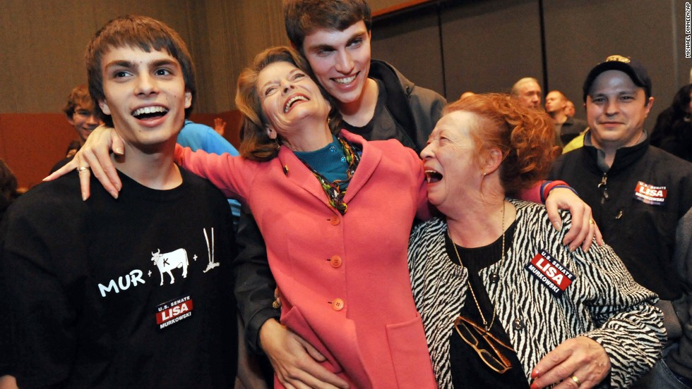 2010: After losing the primary to tea party backed Joe Miller, Alaska Sen. Lisa Murkowski won in the general election after mounting a write-in campaign -- the first time a senator had successfully done that in more than 50 years.