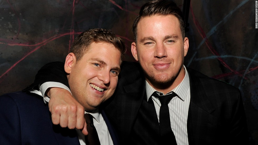 "Jonah Hill and Channing Tatum are a winning pair on and off the big screen. The ""21 Jump Street"" co-stars and off-screen pals are reviving their bromance with the comedy ""22 Jump Street,"" which opens June 13. Of their bond, Tatum told CNN, ""we just got really lucky."""