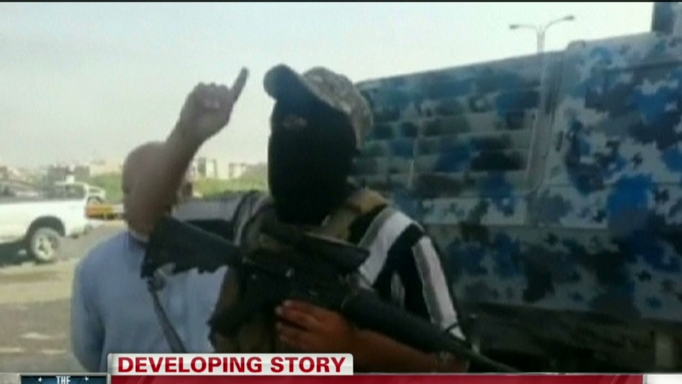 Recording: ISIS promises more fighting in more Iraqi cities