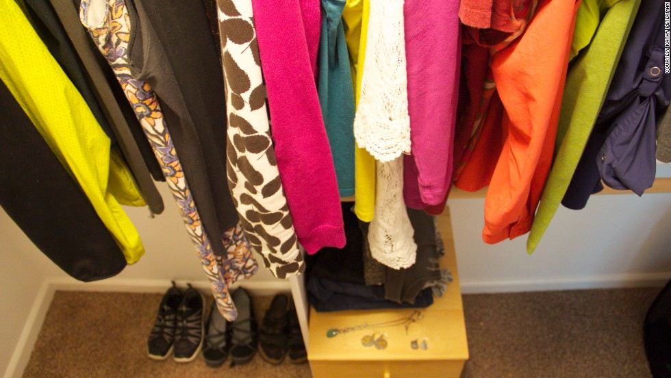 "Courtney Carver's <a href=""http://theproject333.com/"" target=""_blank"">Project 333</a> challenges people to pare down their wardrobes to 33 items for three months at a time. <a href=""http://the3rdchapter.me/tag/project-333/"" target=""_blank"">Kathy Peterman</a> of Portland, Oregon, started in February. It took her three days to figure out which items would make the cut."