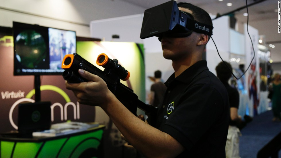 Virtual reality: The next frontier in gaming