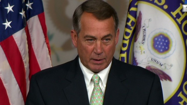 Boehner: Obama 'taking a nap' on Iraq
