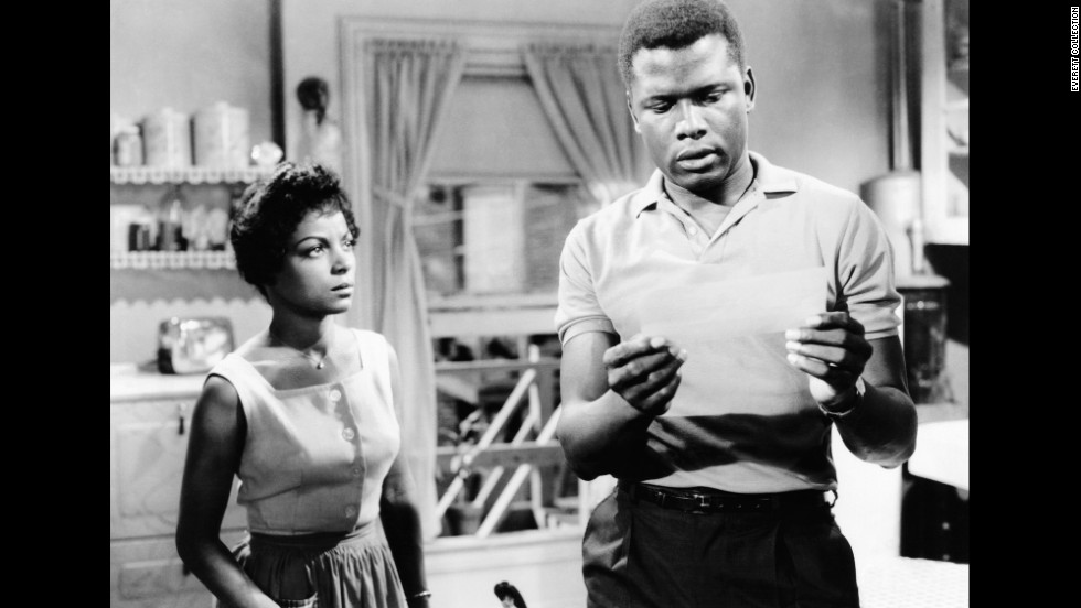 "In 1961's ""A Raisin in the Sun,"" Dee reprised her stage role as Ruth Younger, wife of the striving protagonist Walter Younger, played by Sidney Poitier."