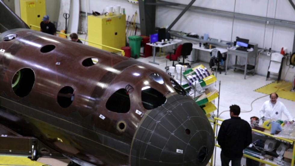 Inside Virgin Galactic's newest passenger spaceship