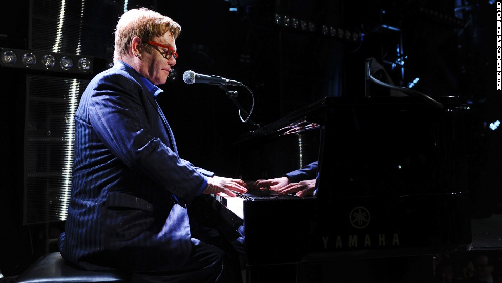 "<strong>Elton John, father of two, on life's spills: </strong>""Everything I thought I would find annoying about having children -- screaming, shouting, tantrums and anything like that -- I don't find any of it annoying. I find it all enchanting. I'm a good barf cleaner."""