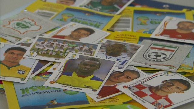 World Cup Sticker mania!