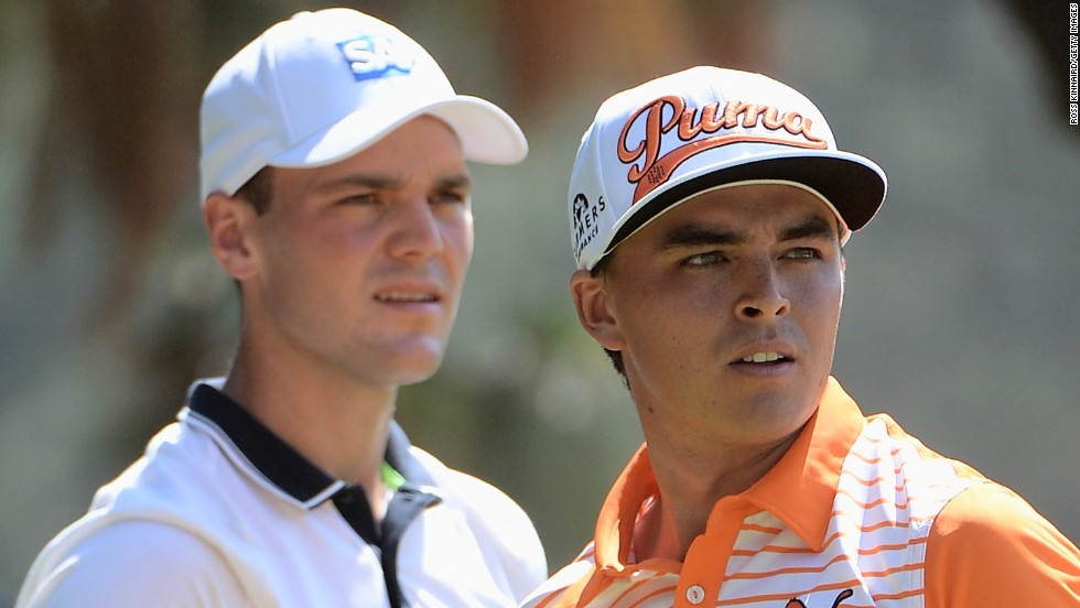 Kaymer was in the final pairing with American Rickie Fowler but the 25-year-old didn't get off to the best of starts and failed to exert any real pressure on the German.