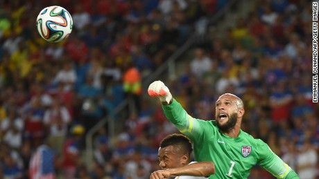 U.S. goalkeeper Tim Howard talks about moving to MLS