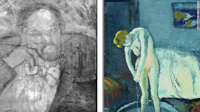 Picasso painting reveals hidden man