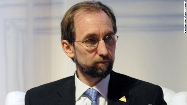 The U.N. General Assembly approved the appointment of Prince Zeid Ra'ad Zeid al-Hussein of Jordan as the new commissioner for human rights.