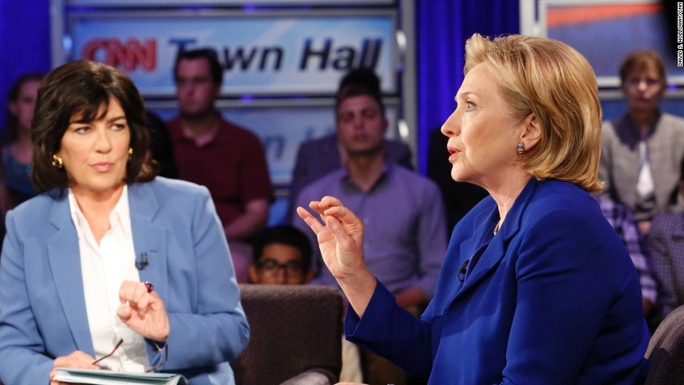 6 times Clinton sounded, acted like a candidate