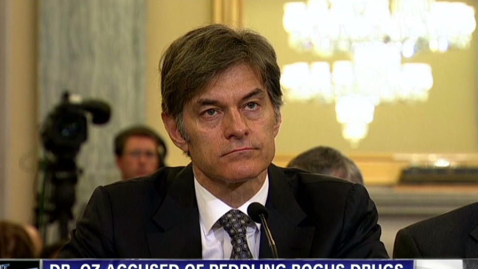 Congressional hearing investigates Dr. Oz 'miracle' weight loss claims