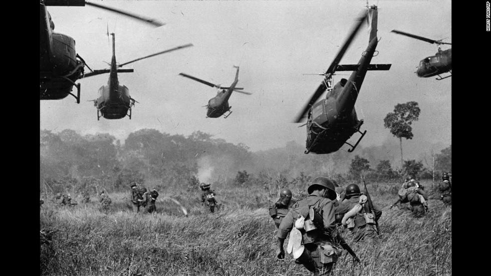 The vietnam war 5 things you might not know cnn this 1965 photo by horst faas shows us helicopters protecting south vietnamese troops northwest of saigon sciox Image collections